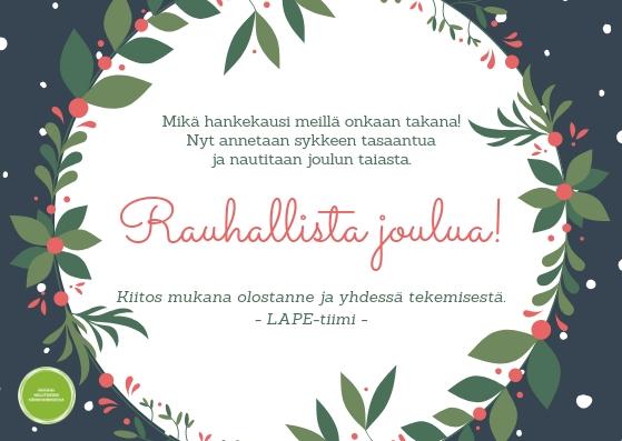 Rauhallista joulua_LAPE